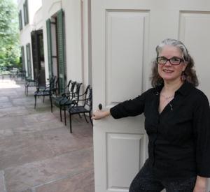 Theresa Quintanilla at Bayou Bend
